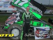 Chris Donnelly. - Image courtesy of Dirt Track Digest