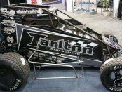 Joey Saldana's midget for the Chili Bowl. - Image courtesy of Peterson Media