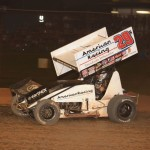 Kerry Madsen on his way to victory at Valvoline Raceway. - Image courtesy of Valvoline Raceway