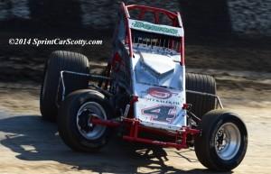 """The Demon"" Damion Gardner. 3-Time USAC/CRA Champion. (Scott Sheldon / SprintCarScotty.com)"