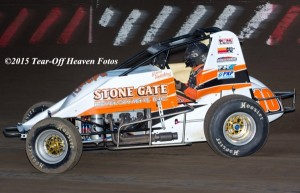Richard Vander Weerd – 4th in 2015 USAC West Coast Point Standings. (Steve Lafond / Tear-Off Heaven Fotos)