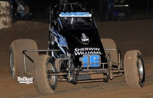 Mike Martin – 6th in USAC SouthWest Point Standings. (Photo by Patrick Shaw / Backed In Photography)