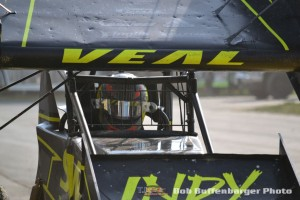 Jamie Veal is getting the call up to run with the World of Outlaws. (Bob Buffenbarger Photo)