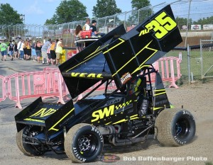 Jamie Veal last season at Limaland Motorsports Park. (Bob Buffenbarger Photo