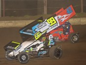 Brady battles with Cory Bruns at Jacksonville (Rob Kocak Photo)