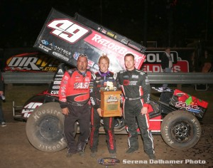 Jason Sides, Brad Sweet, and Shane Stewart (Serena Dalhamer photo)