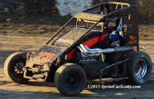 Trey Marcham – 2nd in Honda USAC Western Midget Point Standings. (Scott Sheldon / SprintCarScotty.com)