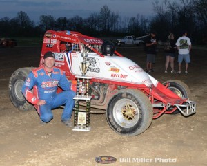MSCS Feature Winner Shane Cottle. (Bill Miller Photo)