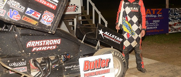 Caleb Armstrong. (Tom Willavize Photo)