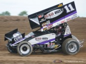 Steve Kinser. (T.J. Buffenbarger Photo)