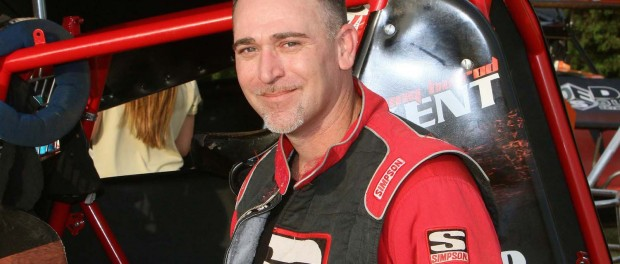 Johnny 'Hotrod' Kent will attempt to be the sixth main event winner of 2015 at Brill Motor Speedway Saturday.  Mike Howard Photo