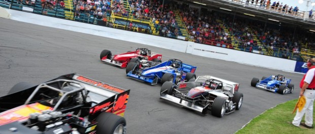 Oswego Speedway will be in action four consecutive weeks in the month of August including the $10,000 to win Mr. Novelis Supermodified on August 1, and the $5 admission 65th Anniversary special on August 8. (Bill Taylor)