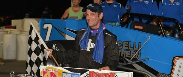 Otto Sitterly. (Image courtesy of Oswego Speedway)