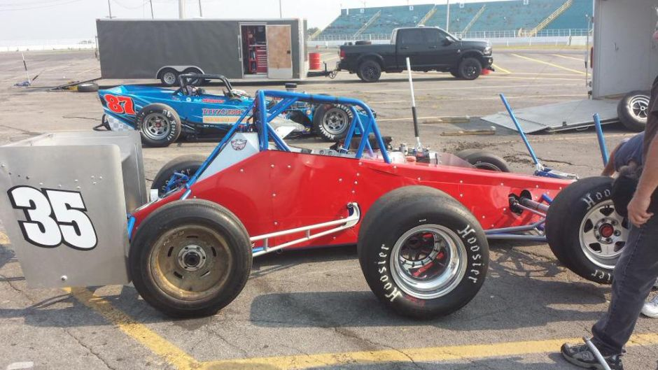 Supermodified Car For Sale In: Magner Returns To Lead Second Day Of Oswego Classic