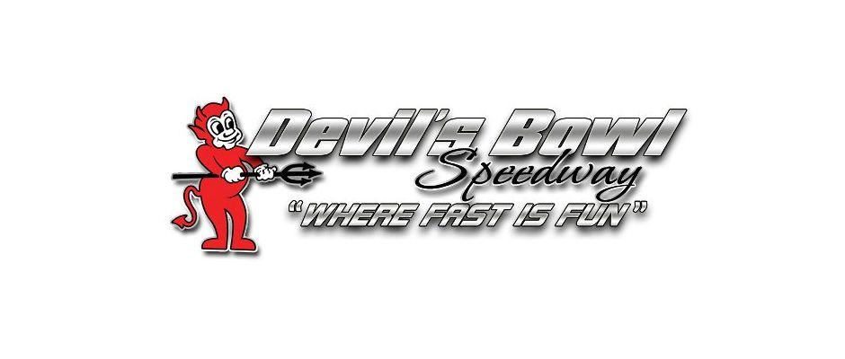 Devil's Bowl Speedway Top Story Logo