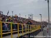 One of the big crowds from last season at Attica Raceway Park. (Bob Buffenbarger Photo)