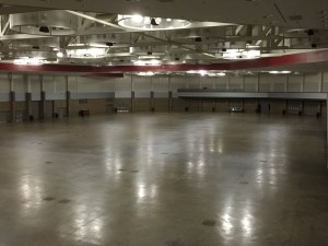 Before picture of the Memorial Coliseum Expo Center. (Rumble Series Photo)
