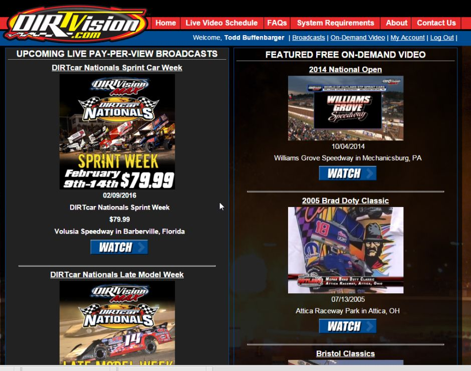 Dirtvision Unveils New Look And Free On Demand Video Tjslidewayscom