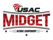 USAC United States Auto Club National Midget Car Logo Top Story