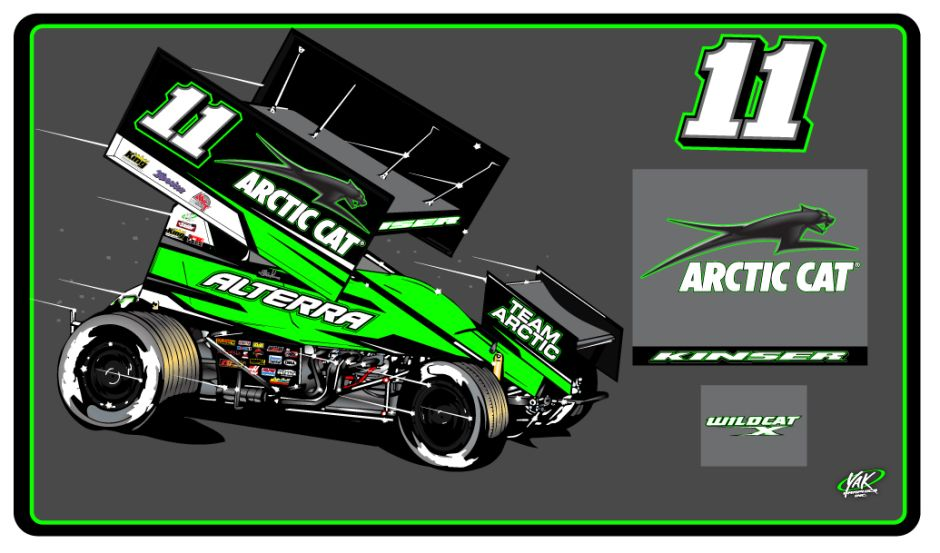 Kraig Kinser To Compete With The All Stars In 2016