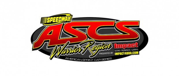 2016 ASCS American Sprint Car Series Warrior Region Top Story Logo