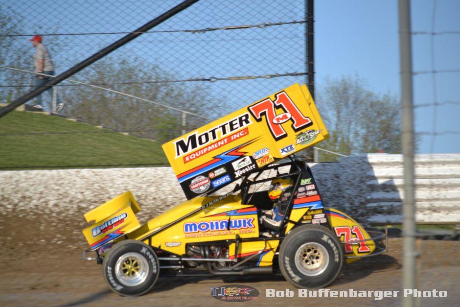 Dave Blaney Sprint Car Racing