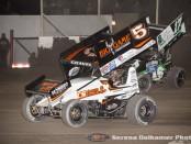 David Gravel (5) and Bryan Clauson (17W) (Serena Dalhamer photo)
