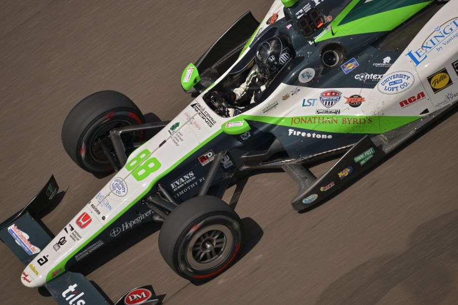 Clauson 26th During Practice On Wednesday At Indianapolis