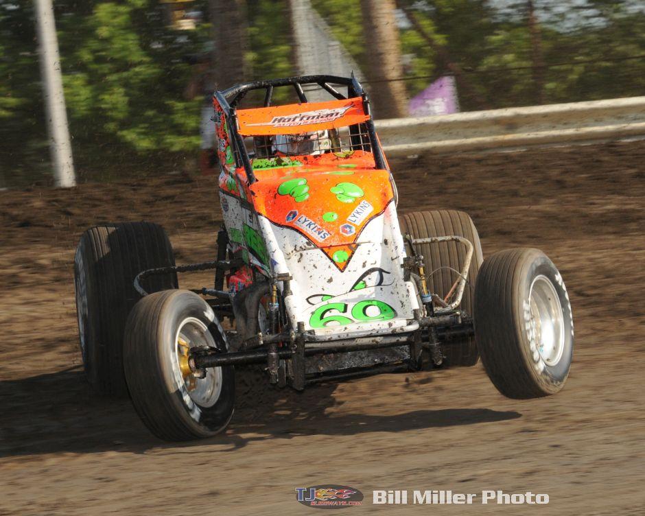 Brady Bacon Indiana Sprintweek Champ Tjslideways Com