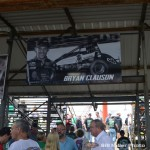 New banner at the entrance of the stands at Kokomo Speedway. (Bill Miller Photo)