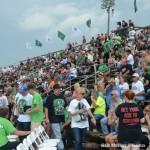 Full house for Bryan Clauson's celebration of life at Kokomo Speedway. (Bill Miller Photo)