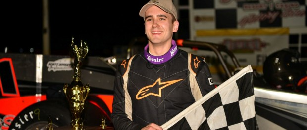 Aric Iosue. (Image courtesy of Oswego Speedway)