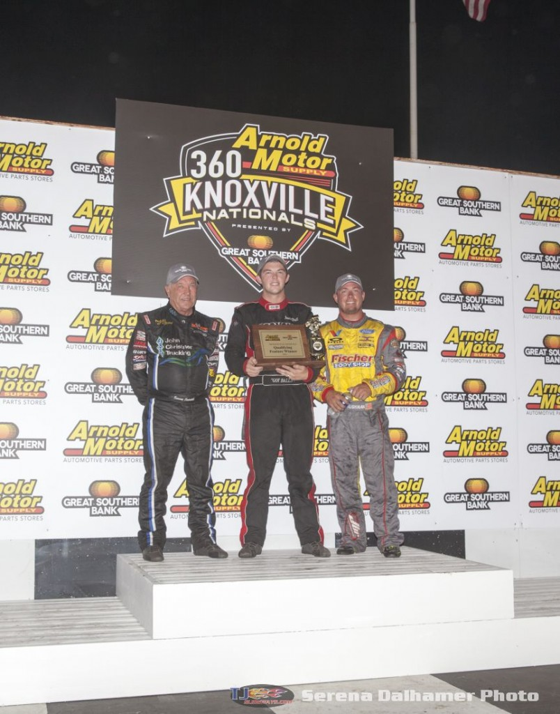 Sammy Swindell (3S), Jamie Ball (5J), and Josh Baughman (17X) (Serena Dalhamer photo)