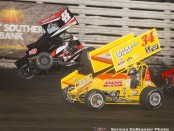 Chris Martin (44) and Jac Haudenschild (34DD) (Serena Dalhamer photo)