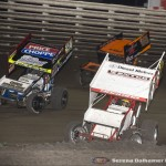 Daniel Harding (7X), Terry McCarl (7X), and Ian Madsen (18) (Serena Dalhamer photo)