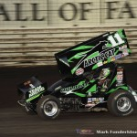Kraig Kinser. (Mark Funderburk Photo)