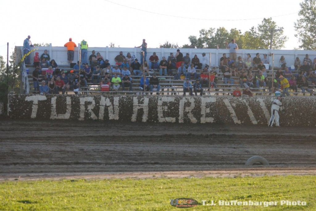 Racing at Crystal Motor Speedway has a quirky, fun feel. (T.J. Buffenbarger Photo)