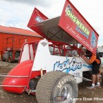 Ohsweken Speedway two-seat sprint car. (Apex One Photo)