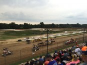Hartford Motor Speedway closes out the Michigan sprint car season with the World of Outlaws. (T.J. Buffenabarger Photo)