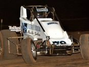 #78 Chris Bonneau – 8th in USAC SouthWest Sprint Car Point Standings. Photo by Patrick Shaw / Backed In Photography.