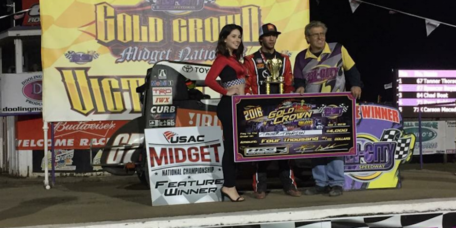 Thorson Wins 4th In A Row At Granite City Cruises To