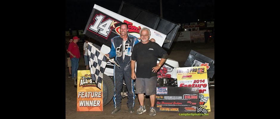 George Fisher and Dale Blaney. (Mike Campbell Photo)