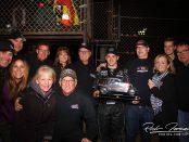 Brady Bacon with his team. (RichForeman Photo)