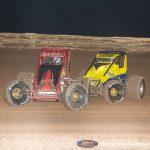 Landon Cling (34) and Matt Lundy (98) (Serena Dalhamer photo)