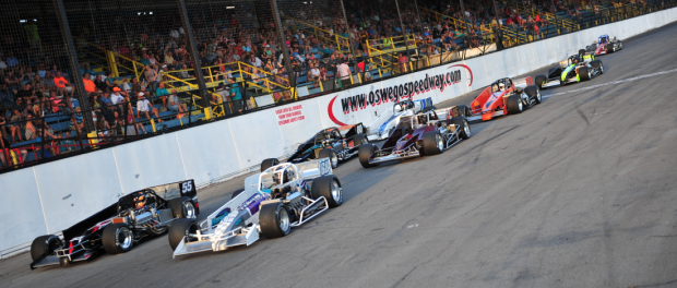 Oswego Speedway's tentative 2017 schedule is set with several marquee events planned for the Novelis Supermodifieds, Pathfinder Bank SBS, Race of Champions Asphalt Modifieds, the International Supermodified Association, and the NASCAR Whelen Modified Tour.  (Bill Taylor)