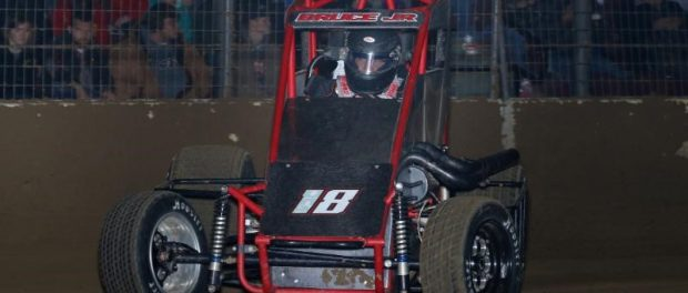 "Tony Bruce, Jr., the lone representative for the state of Kansas entered for this Saturday's ""Junior Knepper 55"" USAC Midget race at the Southern Illinois Center in Du Quoin. (Neil Cavanah Photo)"