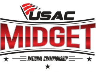 2017 USAC National Midget Car Series Top Story Logo