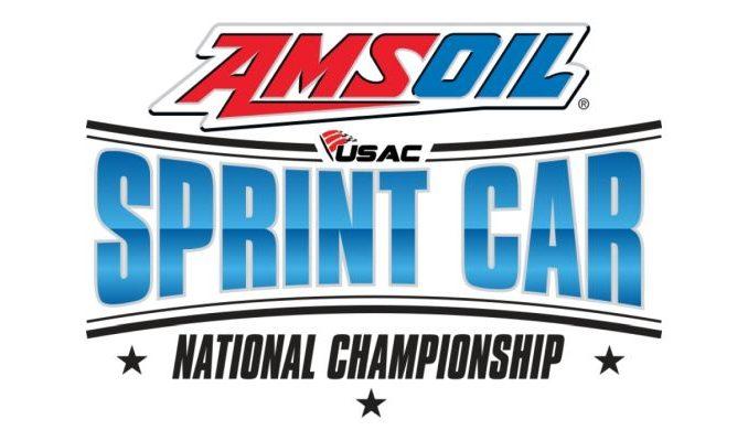 2017 USAC National Sprint Car Series Top Story Logo