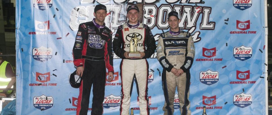 Daryn Pittman, Christopher Bell, and Justin Grant (Serena Dalhamer photo)