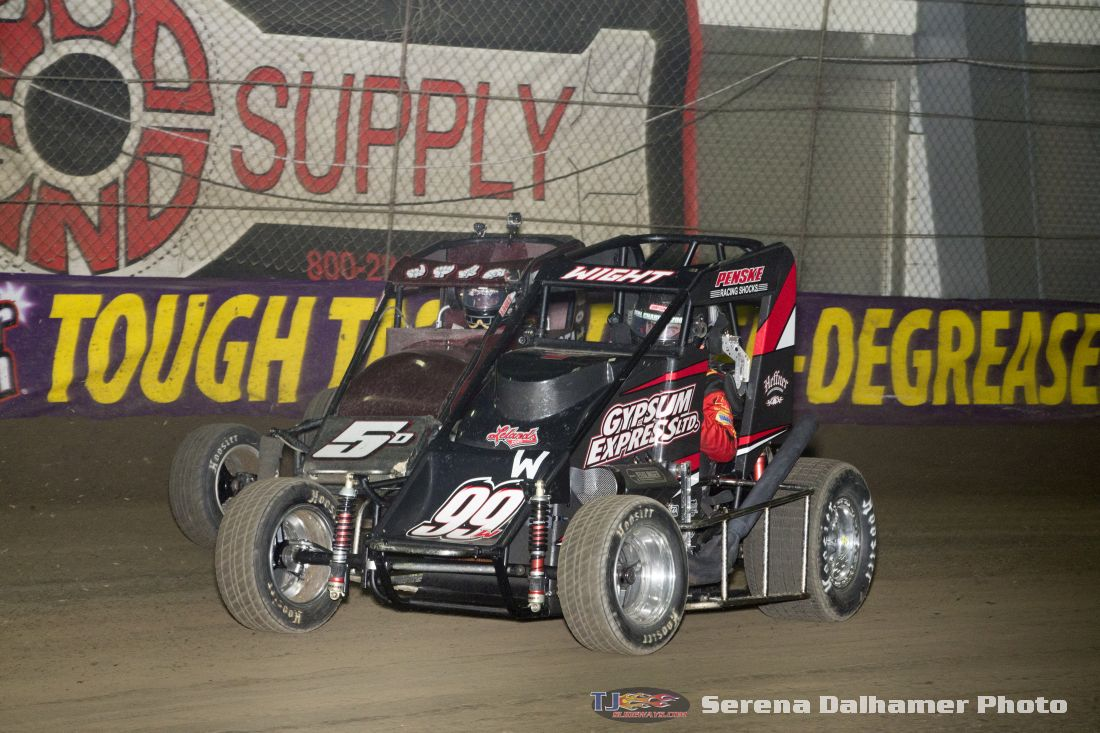 Zach Daum (5D) and Larry Wight (99W) (Serena Dalhamer photo)